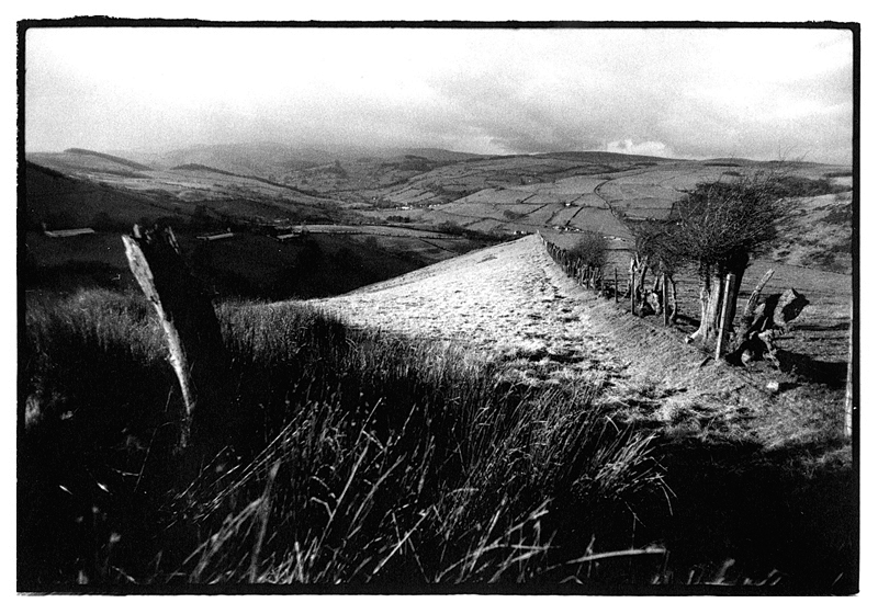 Ceiriog Valley, Wales by Toby Deveson. December 2002
