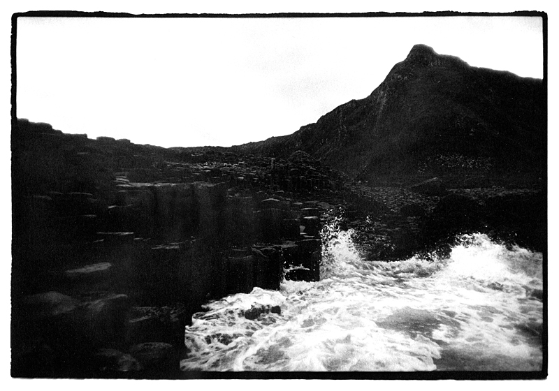 The Giant's Causeway (Clochàn an Aifir), Northern Ireland by Toby Deveson. July 2012