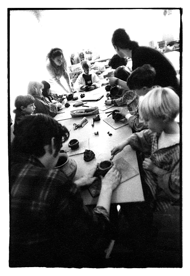 Iron Age Pottery Workshop Downs Junior School, East Sussex Archaeology & Museums Project, Brighton. February 1996