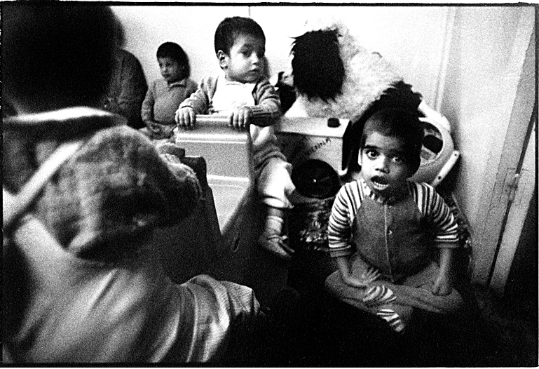 AIDS Hospice in Costanza, Romania by Toby Deveson. September 1991
