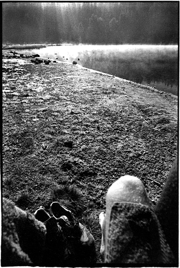 Lacul Sfânta Ana in Harghita, Romania by Toby Deveson. August 1992. Part of the West of the Sun series of Landscapes