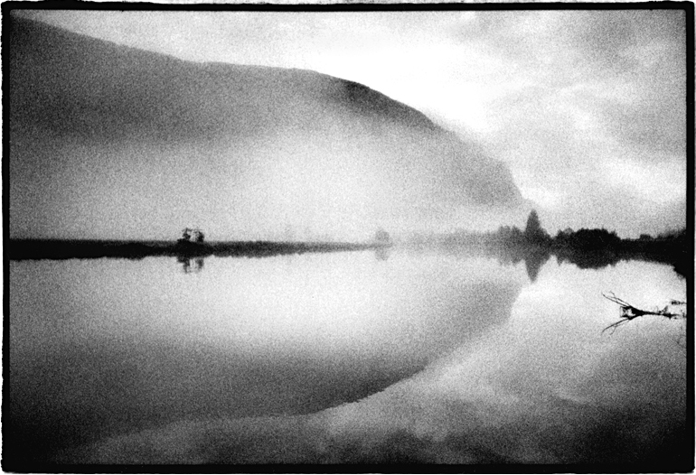 Stryne-Vatnet, Stryn, Norway by Toby Deveson. August 2003. Part of the West of the Sun series
