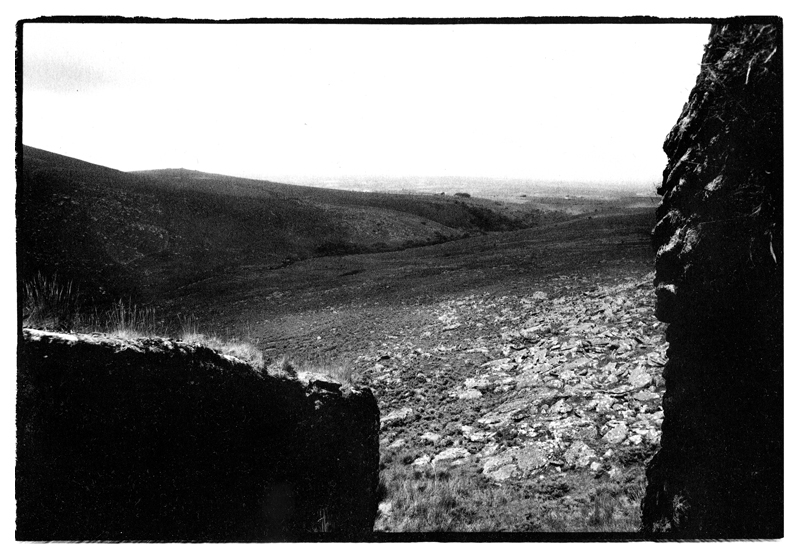Taken whilst filming with Jim Shannon on Dartmoor for the documentary From Dark to Light. Toby Deveson, June 2015. Part of the West of the Sun series