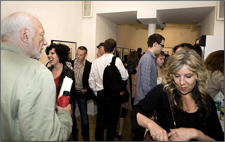 Private View of Skills, Smells & Spells at The Strand Gallery 2012. Image by Jim Shannon