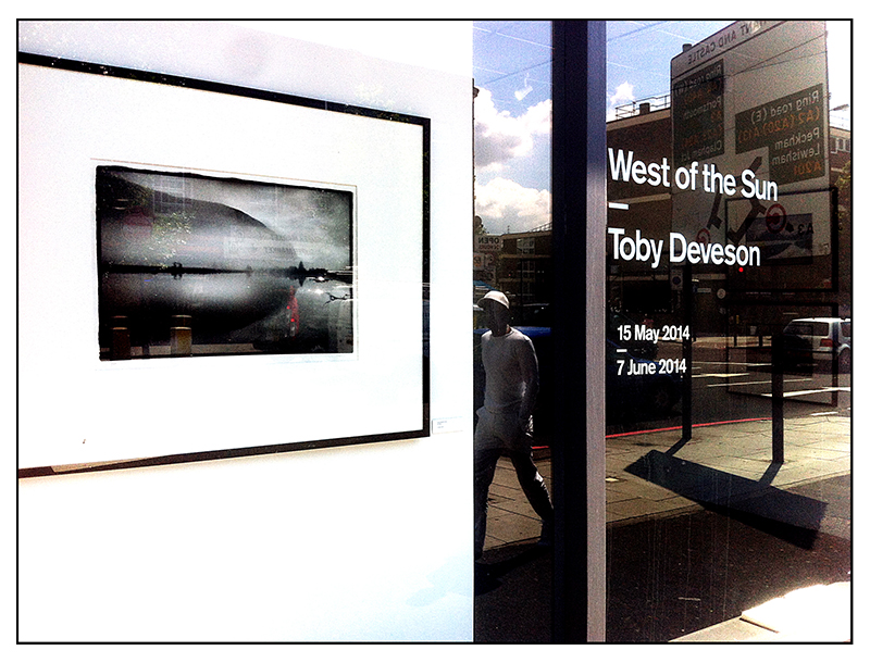 West of the Sun by Toby Deveson at The Silverprint Gallery in London, May to July 2014