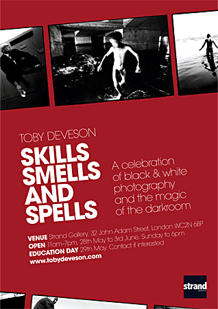 Poster & invitation design for Skills, Smells and Spells by Jim Shannon