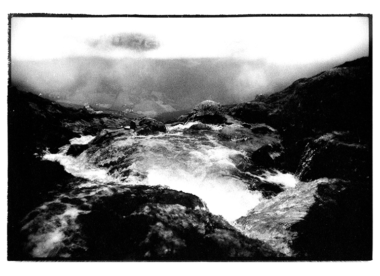 B&W analogue landscape photography by Toby Deveson. Part of the West of the Sun series.