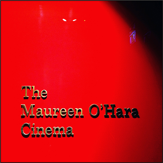Maureen O'Hara Cinema at Embassy Gardens, Vauxhaull. Personal I-Phone image by Toby Deveson. November 2016